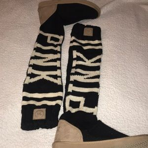 Victoria's Secret PINK sock boot
